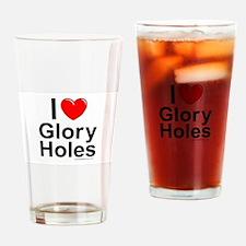 Glory Holes Drinking Glass
