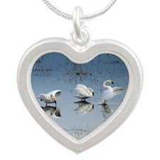 Dance of the Trumpeter Swans Necklaces