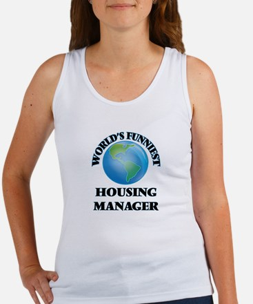 World's Funniest Housing Manager Tank Top