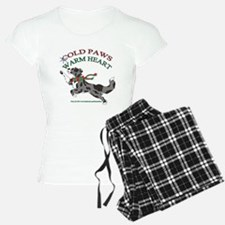 Holiday Paws Border Collie BMerle Pajamas