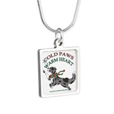 Holiday Paws Border Collie BMerle Necklaces