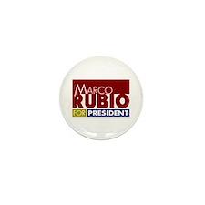 Marco Rubio for President V1 Mini Button (10 pack)