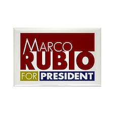 Marco Rubio for President V1 Rectangle Magnet