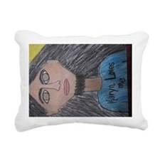 God Almighty Jesus Chris Rectangular Canvas Pillow