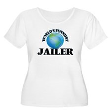 World's Funniest Jailer Plus Size T-Shirt