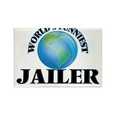 World's Funniest Jailer Magnets