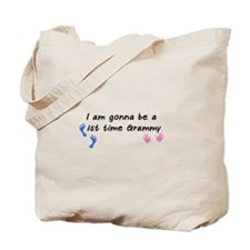 First time Grammy Tote Bag