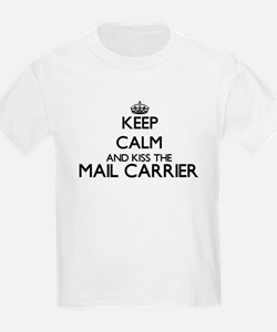 Keep calm and kiss the Mail Carrier T-Shirt