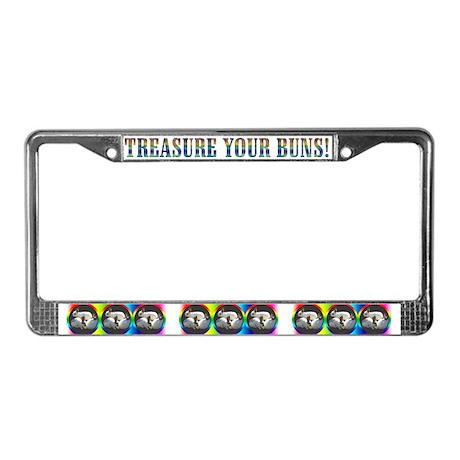 Rabbit License Plate Frame
