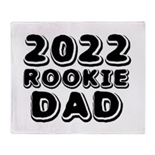 2015 Rookie Dad Throw Blanket