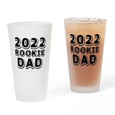 2015 Rookie Dad Drinking Glass