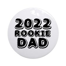 2015 Rookie Dad Ornament (Round)