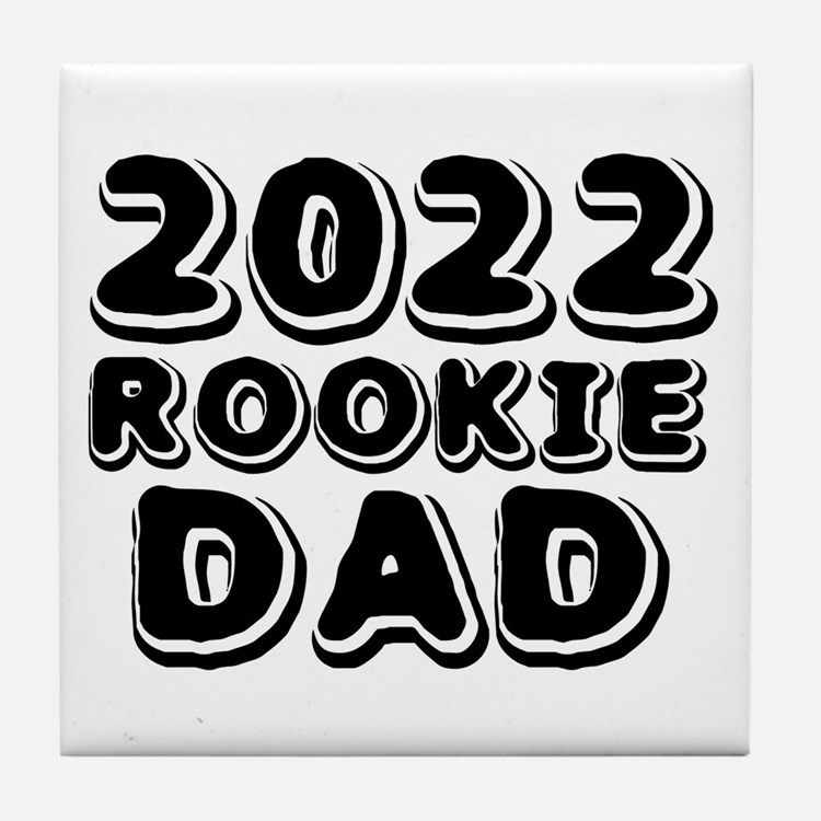 2016 Rookie Dad Tile Coaster