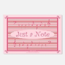 Musical Notes Postcards (8 Pack)