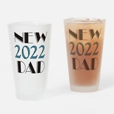 2016 New Dad Drinking Glass