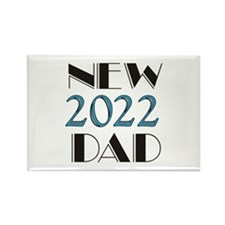 2015 New Dad Rectangle Magnet (10 pack)