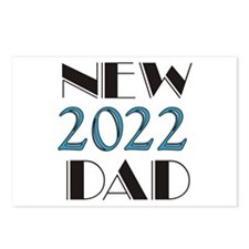 2015 New Dad Postcards (Package of 8)