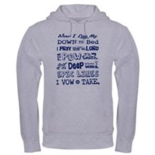 Snow Prayer Jumper Hoody