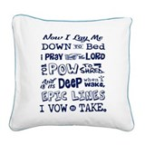 Ski Square Canvas Pillows