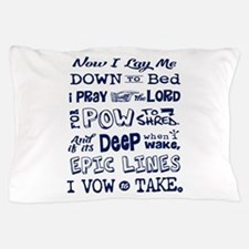 Snow Prayer Pillow Case