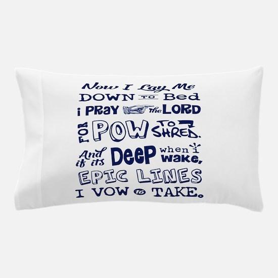 Snow Prayer Pillow Case