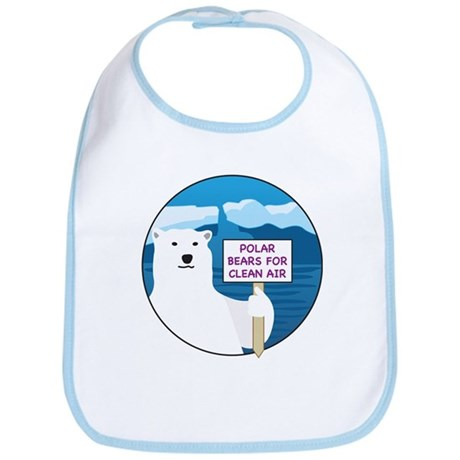 Polar Bears for Clean Air Bib