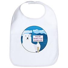Polar Bears for Clean Air Bib