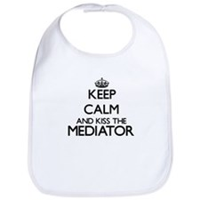 Keep calm and kiss the Mediator Bib