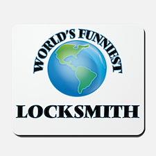 World's Funniest Locksmith Mousepad