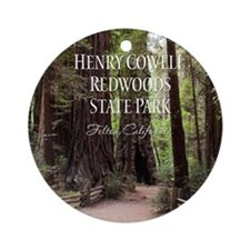 Redwoods Ornament (Round)