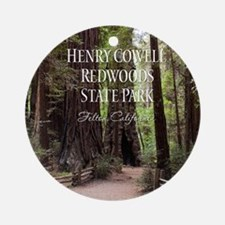 Redwoods Ornament (Round)