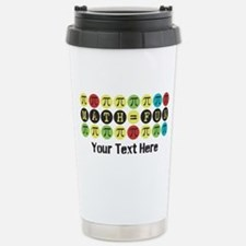 Customize Math = Fun Travel Mug