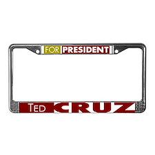 Ted Cruz for President License Plate Frame