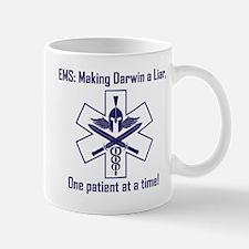 EMS: Making Darwin A Liar, One Patient  Mug