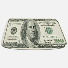 One Hundred Dollar Bill Bathmat