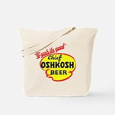 Chief Oshkosh Beer-1952 Tote Bag