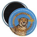 International Cheetah Day Magnets