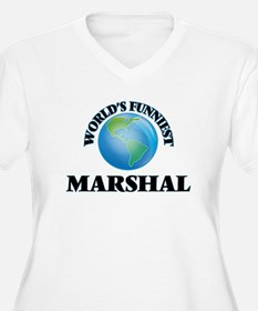 World's Funniest Marshal Plus Size T-Shirt