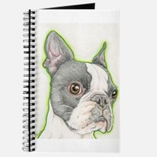 Boston Terrier Drawing Journal