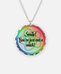 Smile! You've just met a witch! Necklace