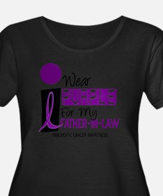 I Wear Purple For My Father-In-Law 9 PC Plus Size