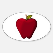 Red Apple Decal
