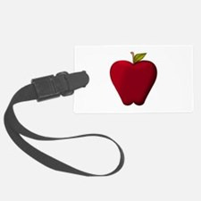 Red Apple Luggage Tag