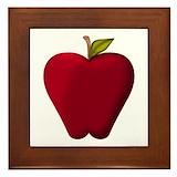 Apple Framed Tiles