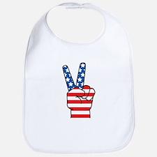 Peace Patriot Bib