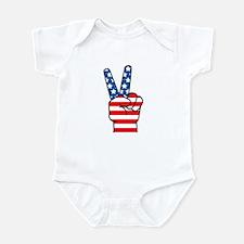 Peace Patriot Infant Bodysuit