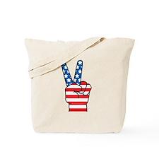 Peace Patriot Tote Bag