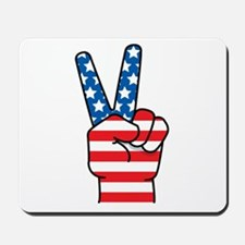Peace Patriot Mousepad