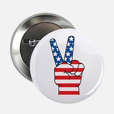 Peace Patriot Button