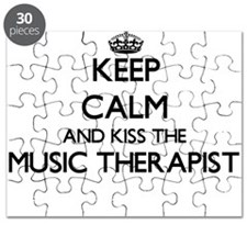 Keep calm and kiss the Music Therapist Puzzle
